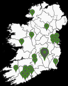 TZC Services - Locations Map